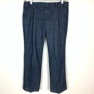Gap Stretch Straight Dark Wash Denim Jeans Size 12